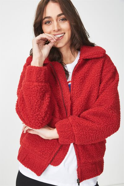 Teddy Bomber, CHILLI RED