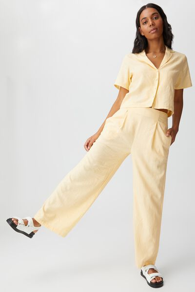 Wide Leg Paradise Pant, BRUSHED APRICOT