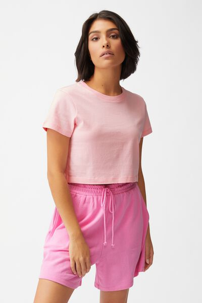 The Baby Tee, PRISM PINK