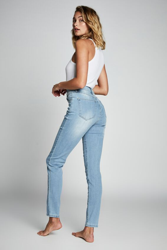 High Rise Skinny Jean, BLEACH BLUE