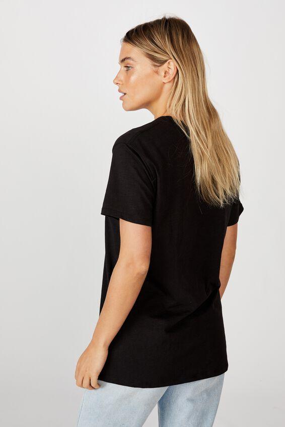 Classic Arts T Shirt, DARK VALLEY/BLACK SLUB
