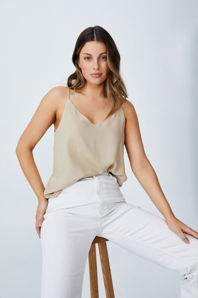 Astrid Cami, LINEN TAUPE