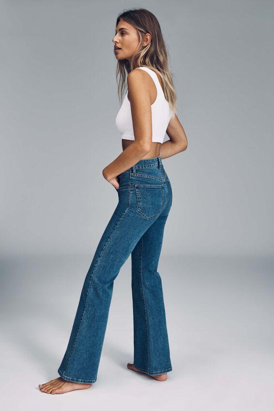 Original Flare Jean, LUCKY BLUE