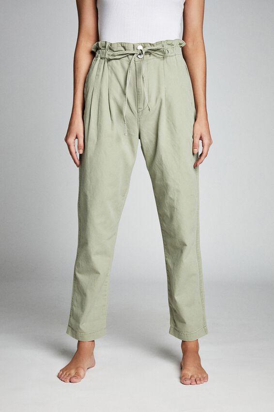 Paperbag Trouser, TEA