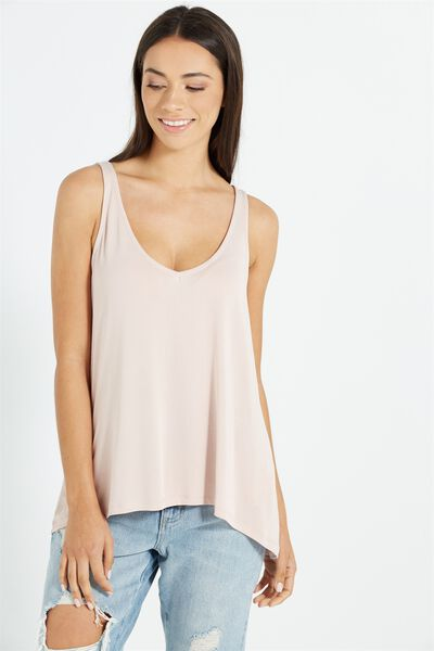 Sia Strappy Cami, NUDE PINK