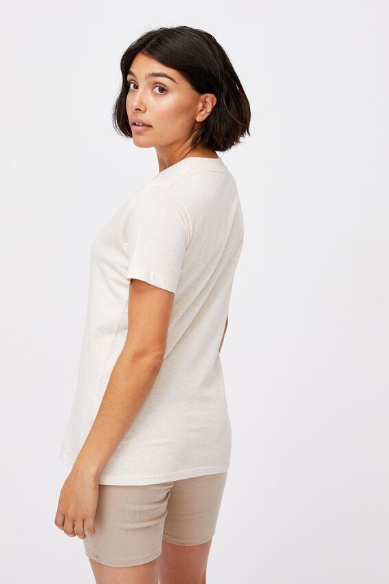 Classic Arts T Shirt, MUSHROOMS/GARDENIA MARLE