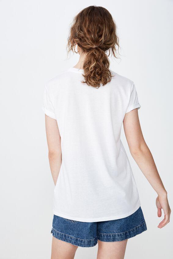 Classic Arts T Shirt, NATIVE CACTI/WHITE