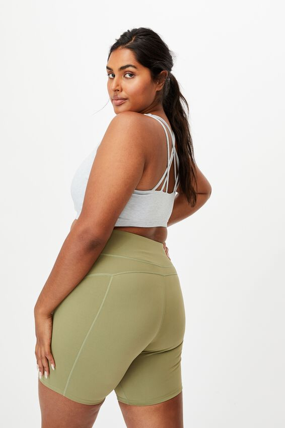 Curve Active High Rise Bike Short, OREGANO