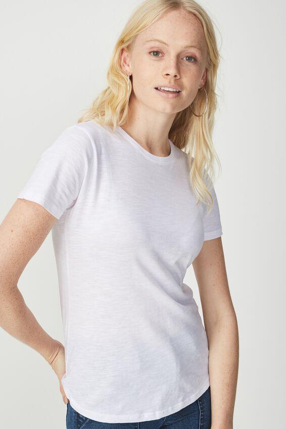 The Crew T Shirt, WHITE