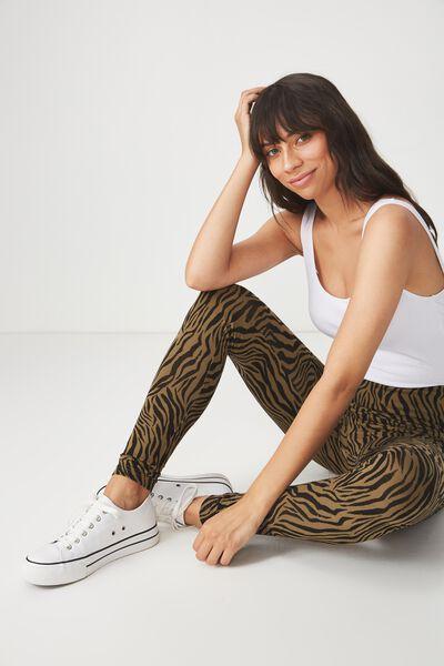 Dakota Detail Legging, SARAH ZEBRA/BLACK