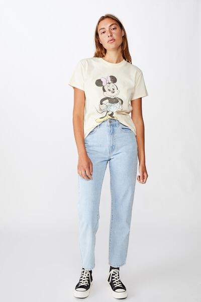 Classic Mickey And Co T Shirt, LCN DIS MINNIE VINTAGE/SUGAR COOKIE