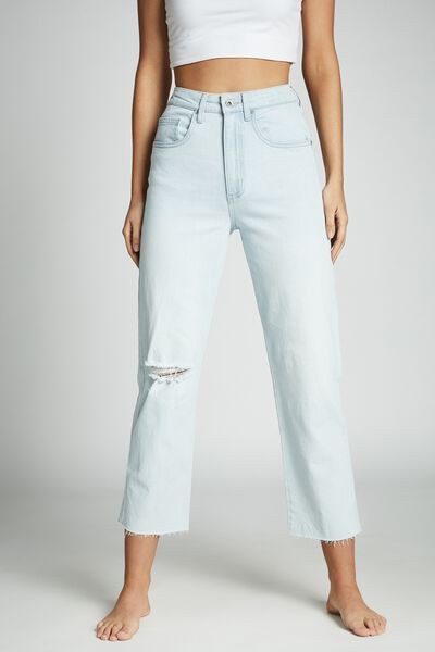 Straight Stretch Jean, BONDI BLUE RIP