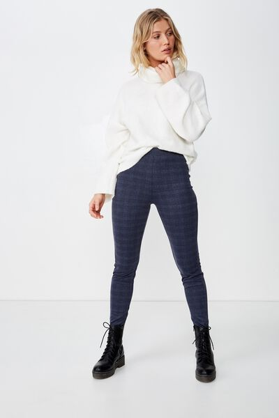 Dantea Legging, ISABELLA CHECK/NAVY