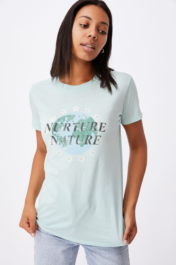 Classic Arts T Shirt, NURTURE NATURE/DASIY BLUE