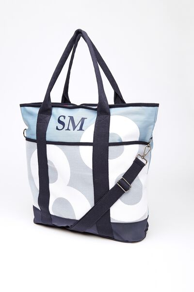 Heather Tote Bag, BLUE/NAVY