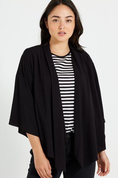Leah Kimono, BLACK