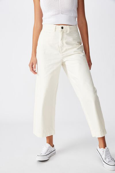 Taylor Pant, WINTER WHITE
