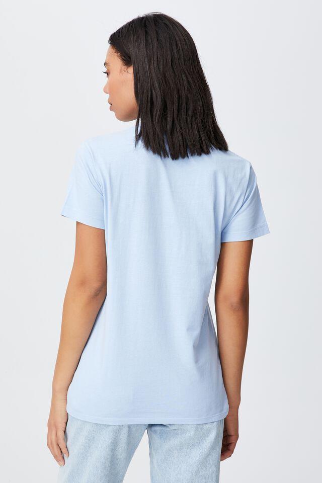 Classic Organic Cotton Graphic T Shirt, COLORADO LANDSCAPE/WAVE WASHED BLUE