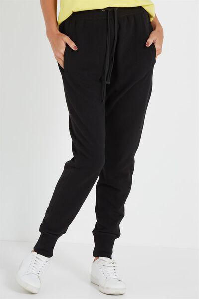 Basic Drop Crotch, BLACK
