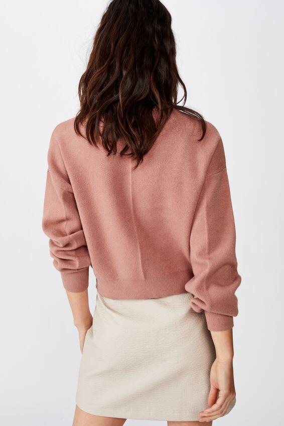 Erin Pu Mini Skirt, CHATEAU GREY