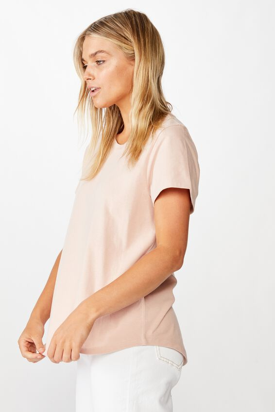 The One Crew Tee, TAUPE ROSE