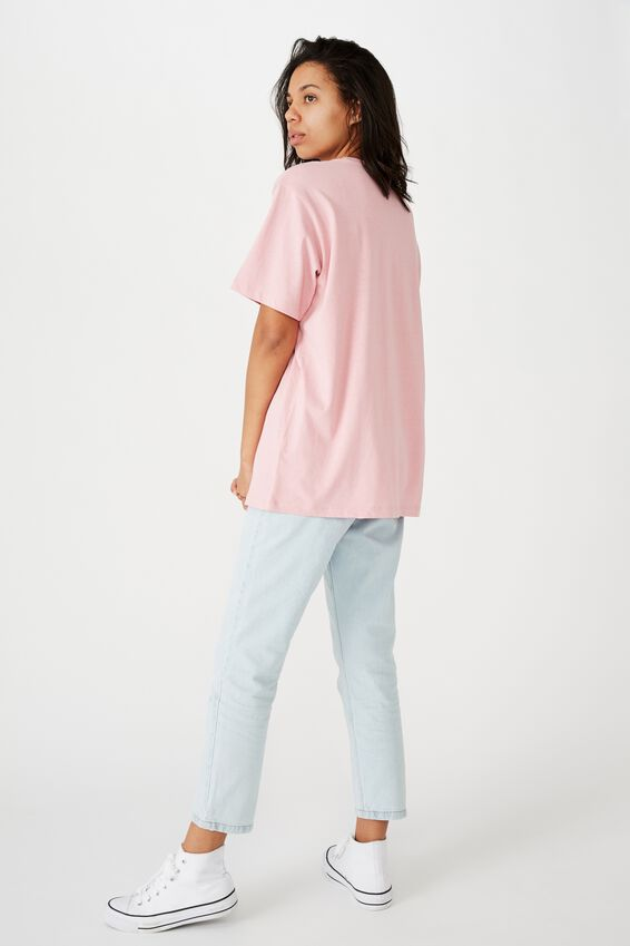 The Dad Tee, EAST BAY TRACK/CAMEO PINK