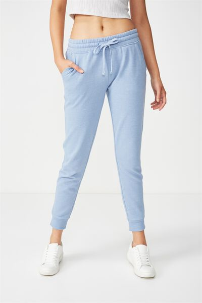 Adele Trackpant, FROSTED BLUE MARLE