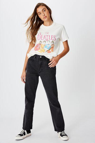 Classic Band T Shirt, LCN APP THE BEATLES SGT PEPPERS/GARDENIA