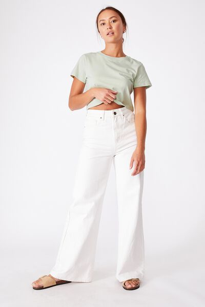 The Baby Tee, SOFT MINT