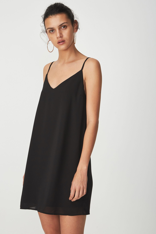 Jual maxi dress hitam