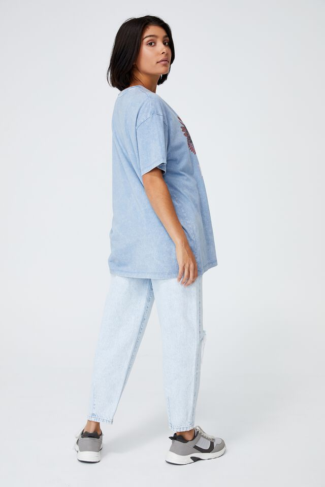 The Relaxed Boyfriend Graphic Tee, FREERIDER/DUSK BLUE