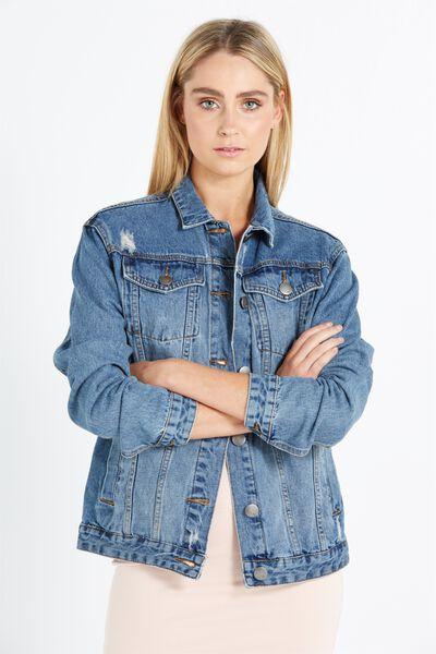 Womens Denim Jackets - Biker Jackets & More | Cotton On