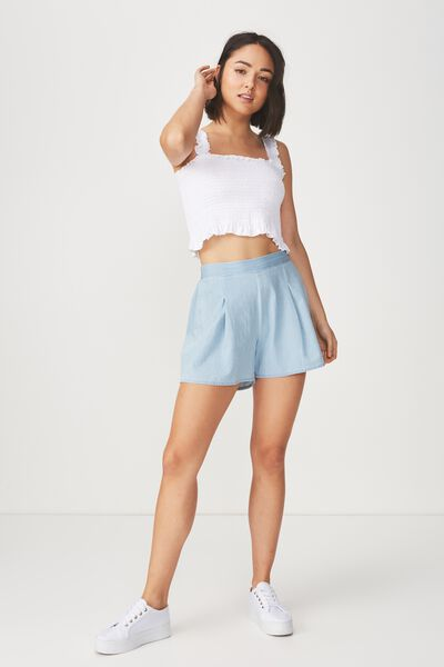 Maya Flirty Short, TRUE BLUE