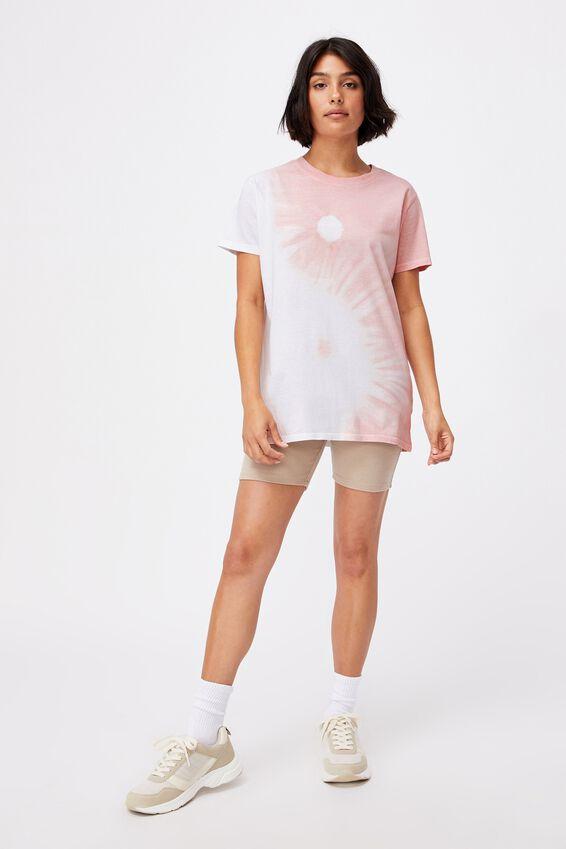 Classic Arts T Shirt, YIN YANG/ZEPHYR TIE DYE