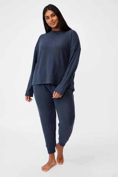 Curve Super Soft Slim Fit Pant, MAGNET BLUE