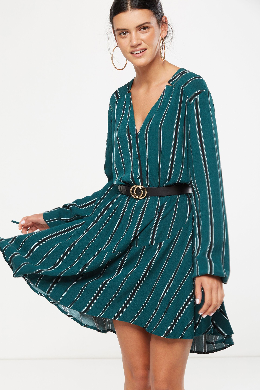 Long front short sides dress