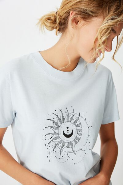Classic Arts T Shirt, CELESTIAL SUNFLOWER/PLEIN AIR