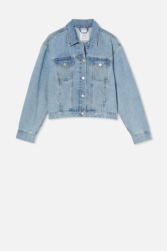 Classic Denim Jacket, LENNOX BLUE