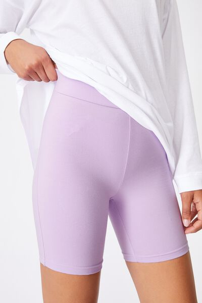 The Pip Jersey Bike Shorts, FROSTY LILAC