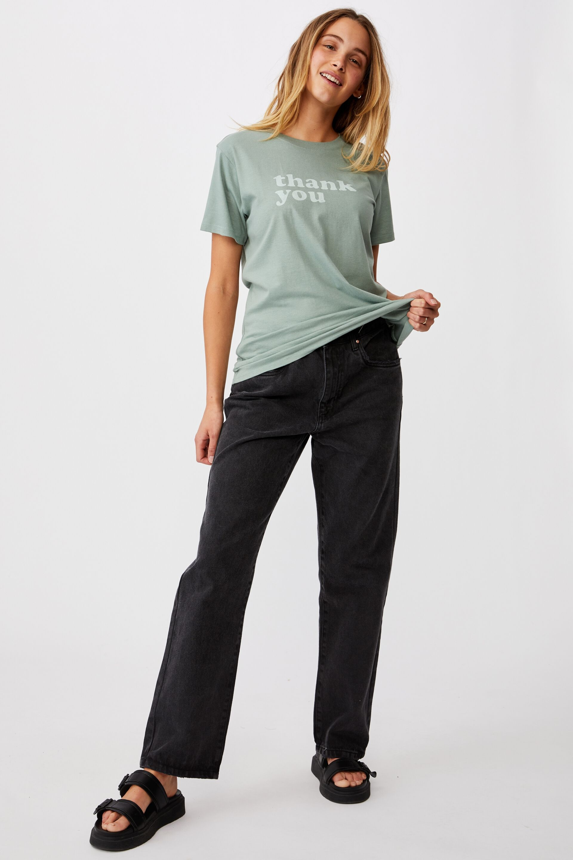 Classic Slogan T Shirt   Cotton On