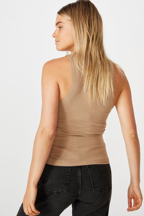 The Everyday Racer Tank, NATURAL