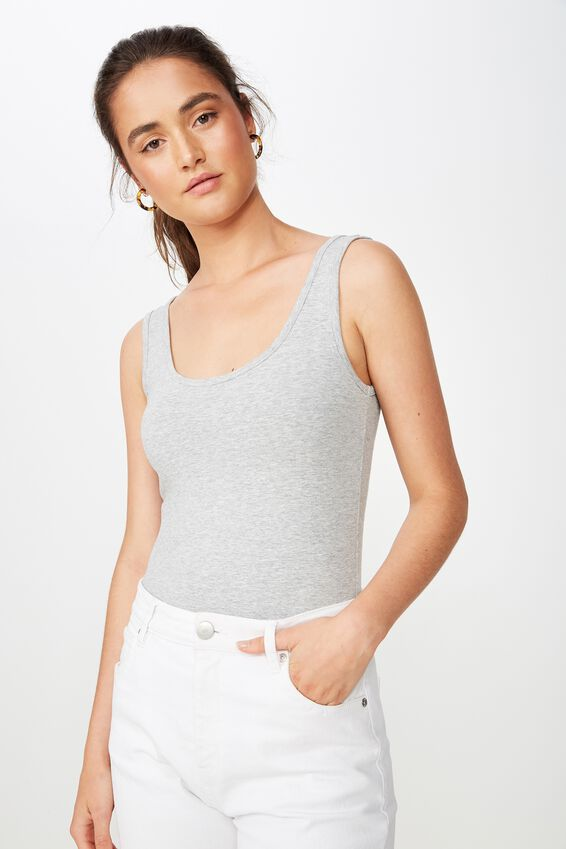 Everyday Tank Top, GREY MARLE