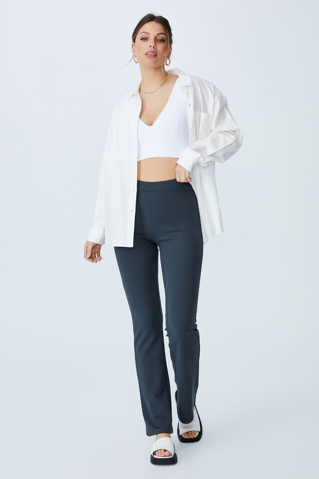 Day To Night Bust Crop Top, WHITE
