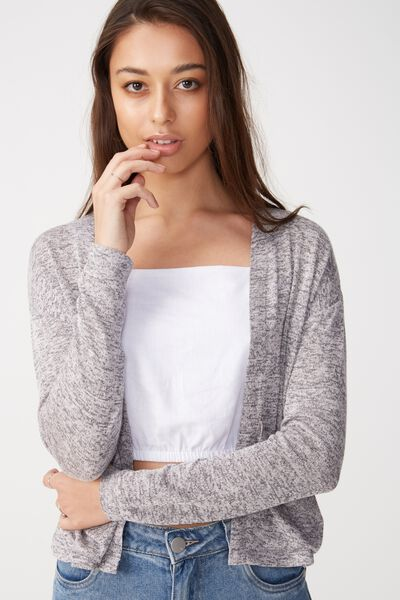 Ot Sammy Short Cardigan, NAVY TWIST