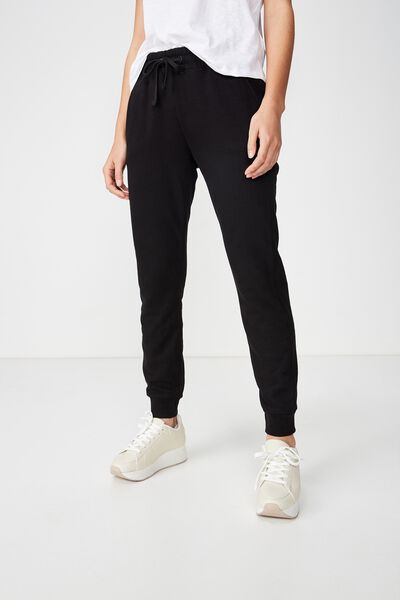 Adele Trackpant, BLACK