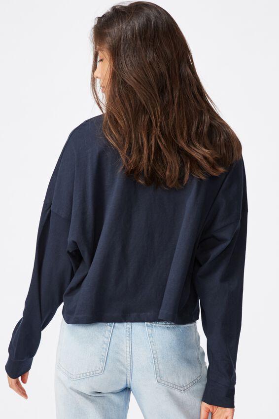 Tbar Brianna Graphic Long Sleeve, CNY GOOD LUCK/MOONLIGHT