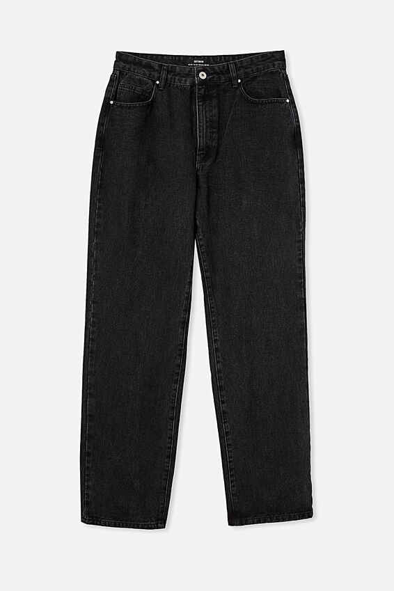 Baggy Straight Jean, MIDNIGHT BLACK