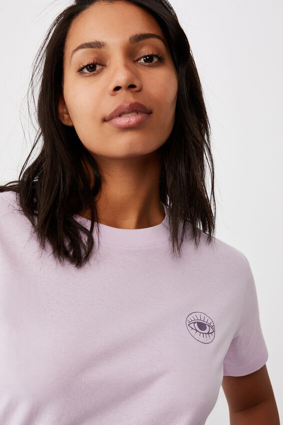 Classic Arts T Shirt, EYE OF THE BEHOLDER/FROSTY LILAC
