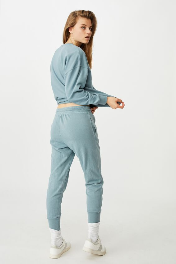 Your Favourite Track Pant, NORTHERN SKY GARMENT PIGMENT DYE