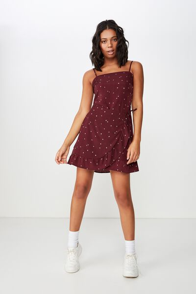 Woven Kiki Summer Mini Dress, SAMMY DITSY FIG